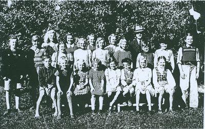 Gronhalls skola 1945 1946