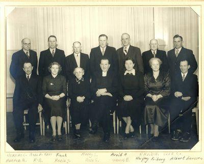 Heda kyrka gruppfoto