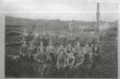 Arbetarna pa torvmossen dagsmosse
