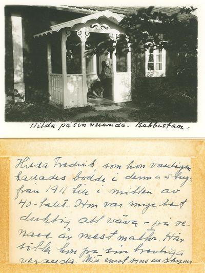 Hilda fredrik vilhelmina f jansson rabbistan
