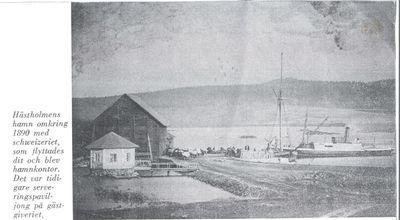 Hastholmens hamn