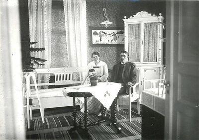 Artur moller med hustru
