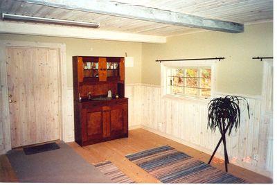Interior fran ett av husen i hembygdsgarden